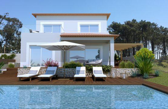 Villa met 3 slaapkamers en privézwembad op 500 meter van de oceaan