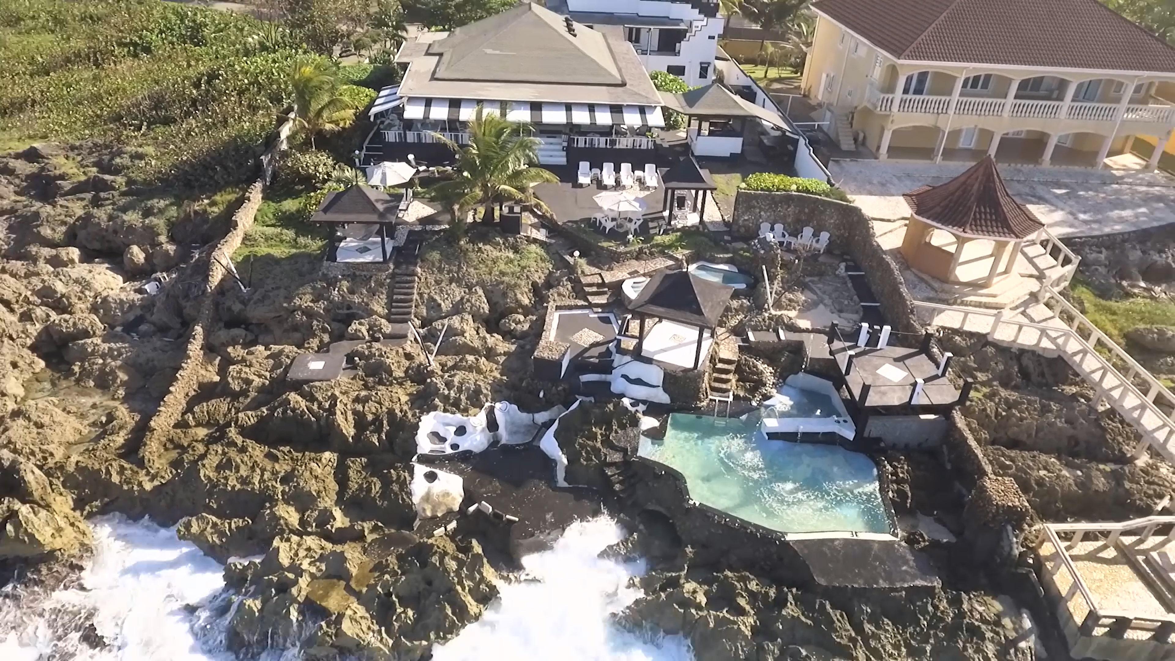 Seaview Black & White Villa